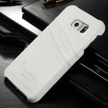 For Samsung S6 Card Slot Leather Case Cover Genuine Leather, Genuine Leather For Galaxy S6