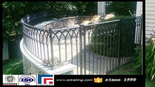 hot sale used wrought iron fencing for sale,wrought iron fencing lowes,wrought iron fence parts