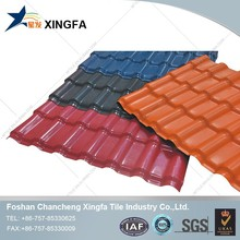 PVC panel roofing sheet/ roofing material/ spanish tile roofing