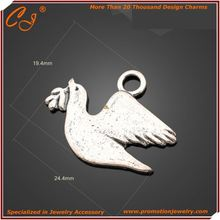 Lucky Bird Charm for Fastener Matching