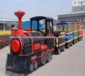 trenes eléctricos del nuevo estilo del tren de la historieta parque temático de diversiones