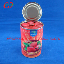 Manufacturer of canned fruit, Canned strawberries/strawberry in light syrup