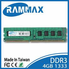 2015 Taiwan Best price!ddr3 4gb ram ,ddr3 ram 4gb ,DDRIII 1333 4GB memory