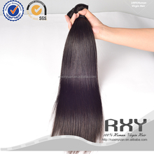 Beautiful and top quality straight hair extensions double drawn weft
