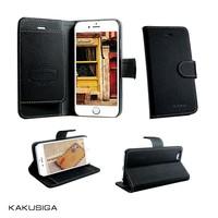 Kaku fashion design genuine leather belt clip cover case for iphone 6