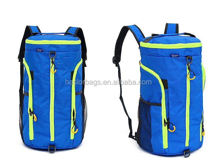 Haute qualité polyester voyage sac pliable voyage sac de grande capacité