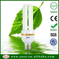 mini 3U 9w/11w/13w/15w 2700k-6500k CFL/energy saving lamp/bulb/lighting