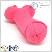Hot selling new design cheap funny adult sex toy pillow, plush penis pillow