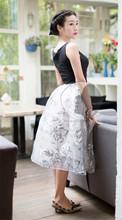 Chine fabricant prix bas jolie et coloré jupe longue musulman