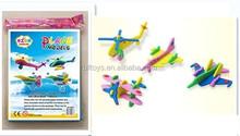 3d eva model puzzle mini jigsaw puzzle foam assemble plane