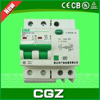 GZ47LE-100 series miniature circuit breaker(MCB) with 2 poles