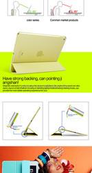 2015 Best price PU+PC Material Slim Flip Phone Cover Case For Ipad Air 2