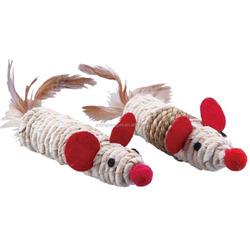 Two Weaven Mouse Cat Toys Bulk Cat Toys