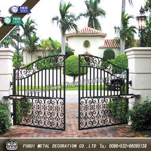 House main wrought iron gate designs
