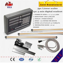 Linear scale Digital readout(DRO) kits for milling&boring machine