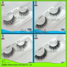 Aliexpress Hot Selling Real Mink Eyelashes Manufacturer Individual Eyelashes