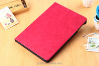 Wholesale High Quality Imitation Leather Stand Case Cover for Ipad 6