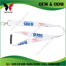 Printed polyester luggage strap in bag parts