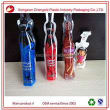 pure drinking water plastic bag/bottled shape plastic bag for purified water