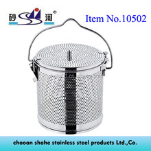 Manufacturers selling stainless Steel spice soup basket containers