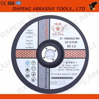 China professional supplier of grinding wheels 7 inch abrasive disc used on stone and beton