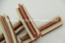 chicken meat (two-tone straight hexagonal natural dog chews)