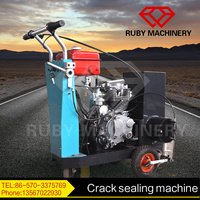 Self-heating road crack sealing machine for sale
