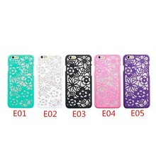 Hard PC Paisley Henna Royal Court Flower Phone Case Cover For iPhone 6 6 Plus