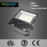 China hot sell 100w external led flood lights with 5 years warranty