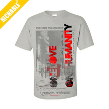 TSYK1089 Customized 100 Comed Cotton 180 GSM Water Printed T-Shirt With Janpan and Korea Word