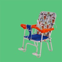 High quality stock price baby seat for motorcycle, baby bike seat, bike folding child seat in rear