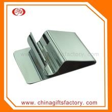 Stainless Steel Custom Blank Money Clip Wallet