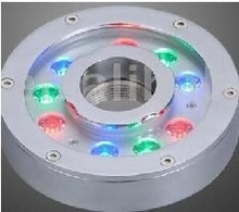 ip68 9w led fountain light swimming pool light