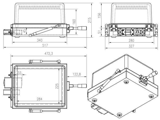 shielding equipment shield box perfect for gsm emi cdma 3g