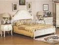 madeira pintada cama miúdos móveis estilo country crianças jogo de quarto de adolescente quarto conjunto de cama do miúdo