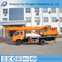 Advanced Designed Electric Cranes for Trucks BMC/T-King/Dongfeng Chassis