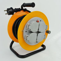 Earthed sockets cable reel, IP44