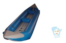 New design Inflatable Sit on Kayak Canoe Fishing Boat