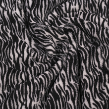super soft textile printing warp kintting personality fabric for hair cleaning