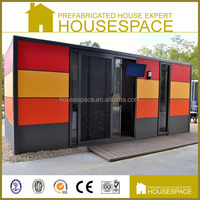 Fireproof Galvanized economic prefab metal home