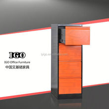 IGO-003-4D Hot Sale Good Quality Office Furniture 4 drawer mobile pedestal