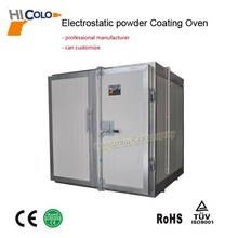 2015 Best-seller Electrostatic Powder Coating Curing Oven for Steel Substrate /Plate /Panel /Pipe /Workpiece