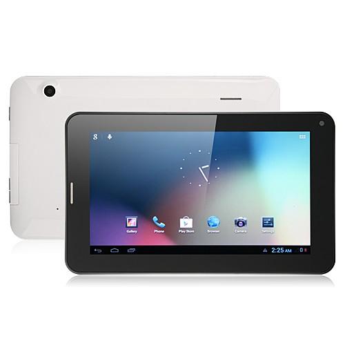 utiliza el freelander pd200 7 pulgadas gps androide tablet pc 2g gsm de cuádruple banda mtk8317 4gb gps bluetooth como nuevo