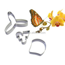 Sugar Flower Cutter Set Stainless Steel cookie mold cooking molds cookie cutter stainless steel cake mold