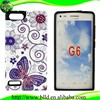 Butterfly beautiful water printing PC TPU body glove cell phone cases for Huawei Ascend G6