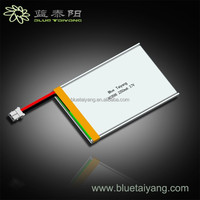 803566 2250mah 3.7V rechargeable battery