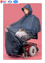 lined powerchair cape for outdoor electric scooter accessories for mobility raincoat for motorcycle riders