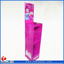 Alimentos indicação do contador de papelão, Impressos personalizados PDQ caixas de exibição, Papel superior do Display balcão