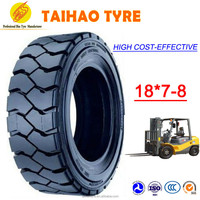 China low price high quality cheap wholesale Hot Sale 18*7-8 industrial pneumatic forklift tire bias linde forklift tire