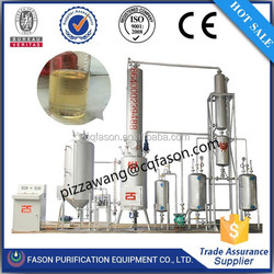 New Condition ISO 2001 certified Used ship oil refinery waste oil to diesel oil convert machine